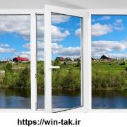 اطلاعات درب و پنجره دوجداره upvc وین تک