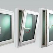 پنجره لولایی دو حالته