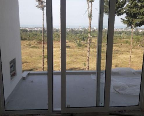 پنجره کشویی وین تک وسط باز شو مازندران